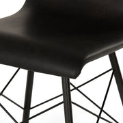 Diaw Dining Chair - Distressed Black