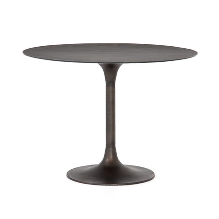 Simone Round Bistro Table - Antique Rust