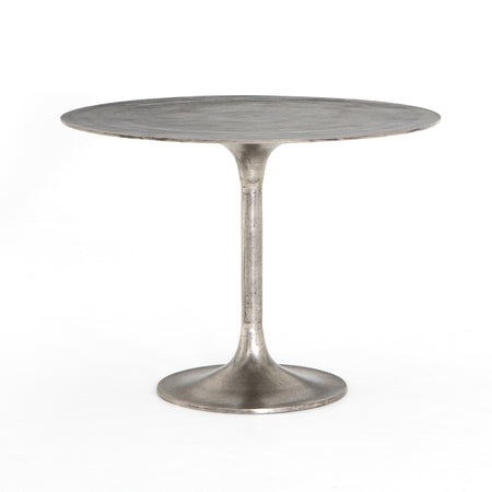 Simone Round Bistro Table - Antique Nickel