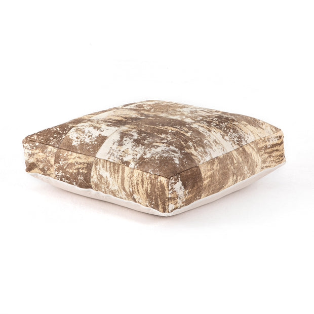Harland Modern Hairless Hide Floor Cushion