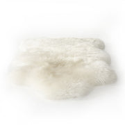 Lalo Lambskin Throw, Cream