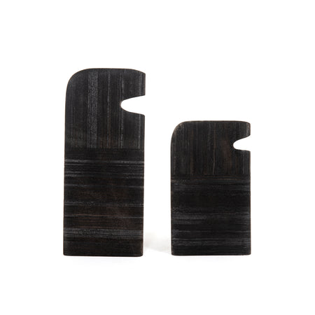Tab Stone Sculptures - Set of 2