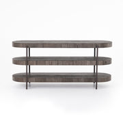 Tinsley Media Console - Distressed Grey