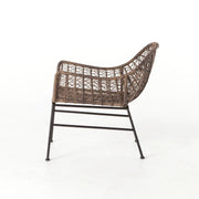 Bandera Outdoor Woven Club Chair - Distressed Grey