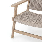 Delano Outdoor Chair - Weathered Grey