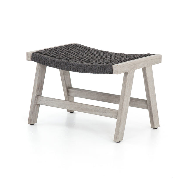 Delano Ottoman in Weathered Grey