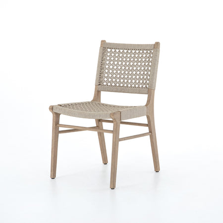 Delmar Outdoor Dining Chair - Washed Brown
