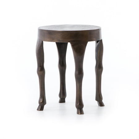 Hopedale End Table - Antique Rust