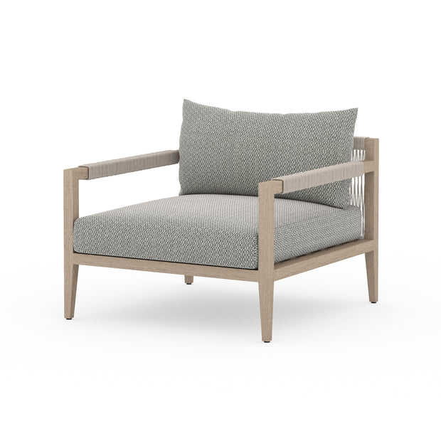 Sherwood Outdoor Chair - Washed Brown with Ash
