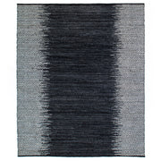 Leather Woven Diamond Rug