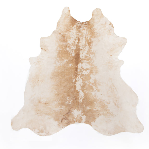 Modern Hairless Cowhide - Natural Brown