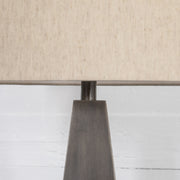 Leander Table Lamp - Pewter