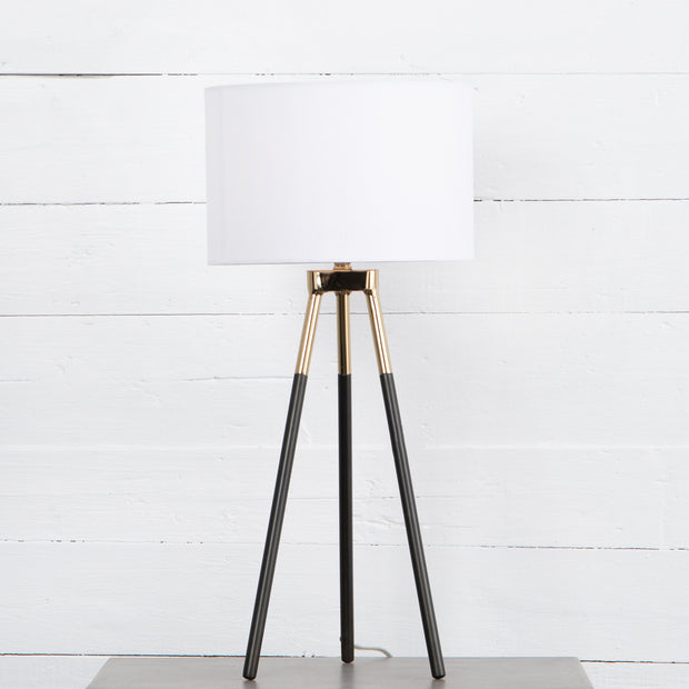 Peter Table Lamp - Charcoal Iron