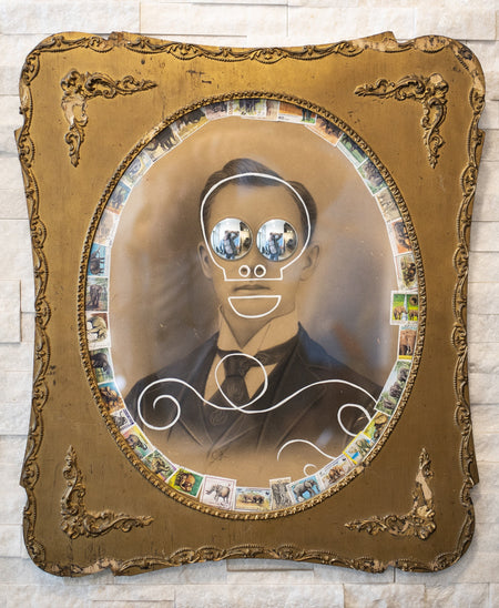 Butch Anthony - Googly Eyes - Framed