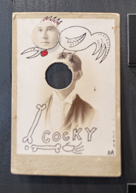 Butch Anthony - Cocky - Cabinet Card