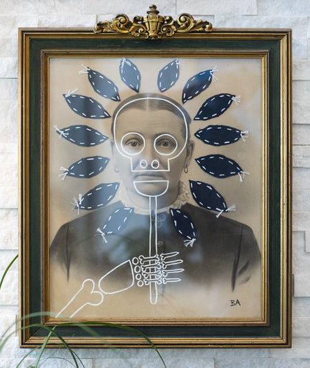 Butch Anthony - Flower Child - Framed