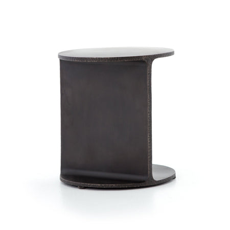 Griffon Side Table in Rustic Fossil