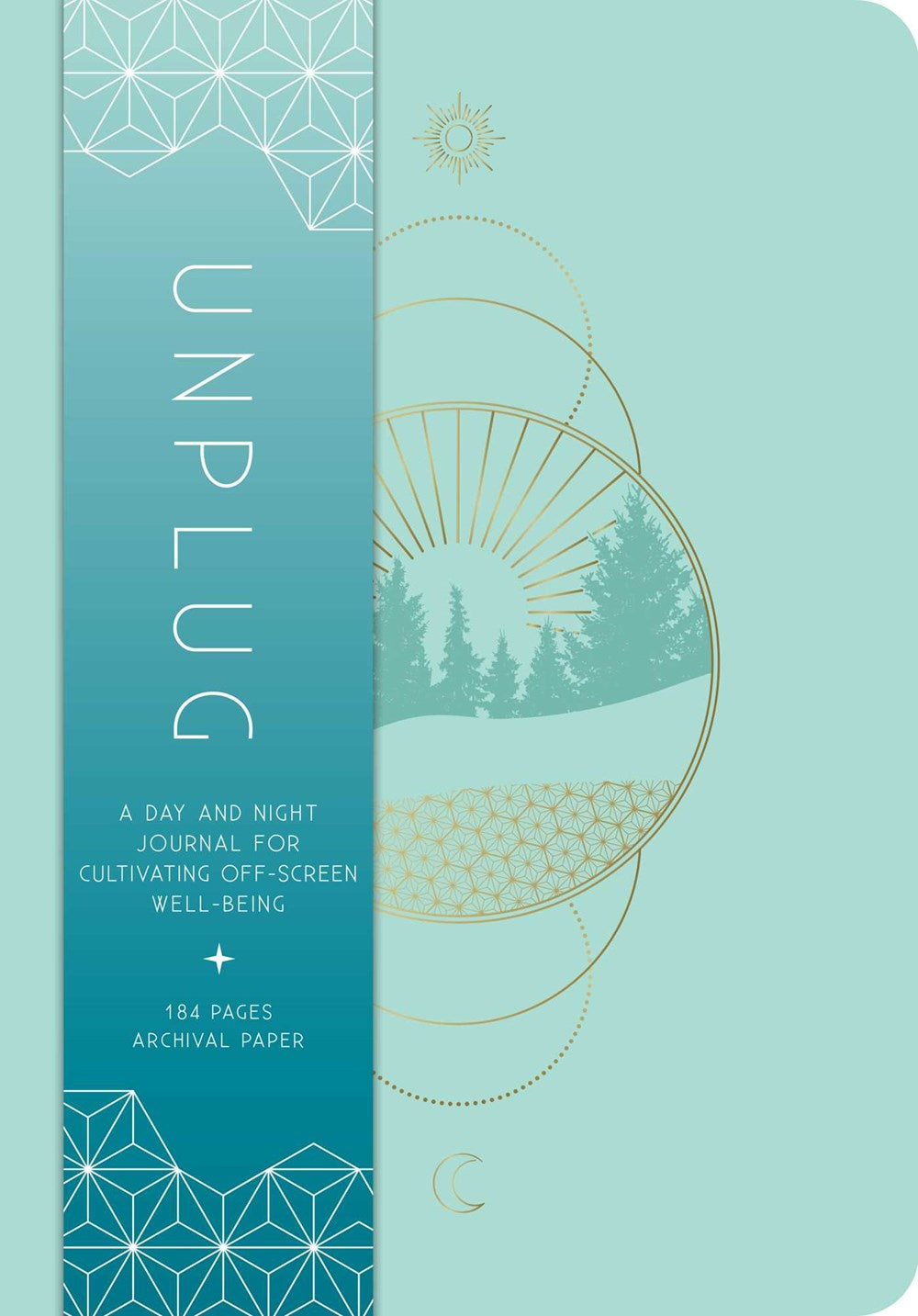 Unplug : A Day and Night Journal for Cultivating Off-Screen Well-Being