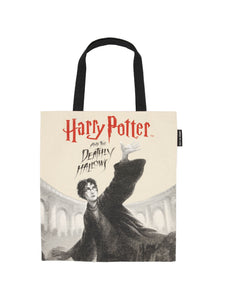 HARRY POTTER AND THE DEATHLY HALLOWS TOTE BAG