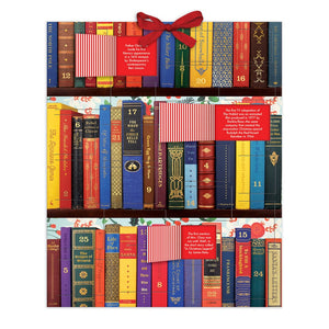 Festive Bookshelf Advent Calendar