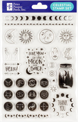 Celestial Clear Stamp Set