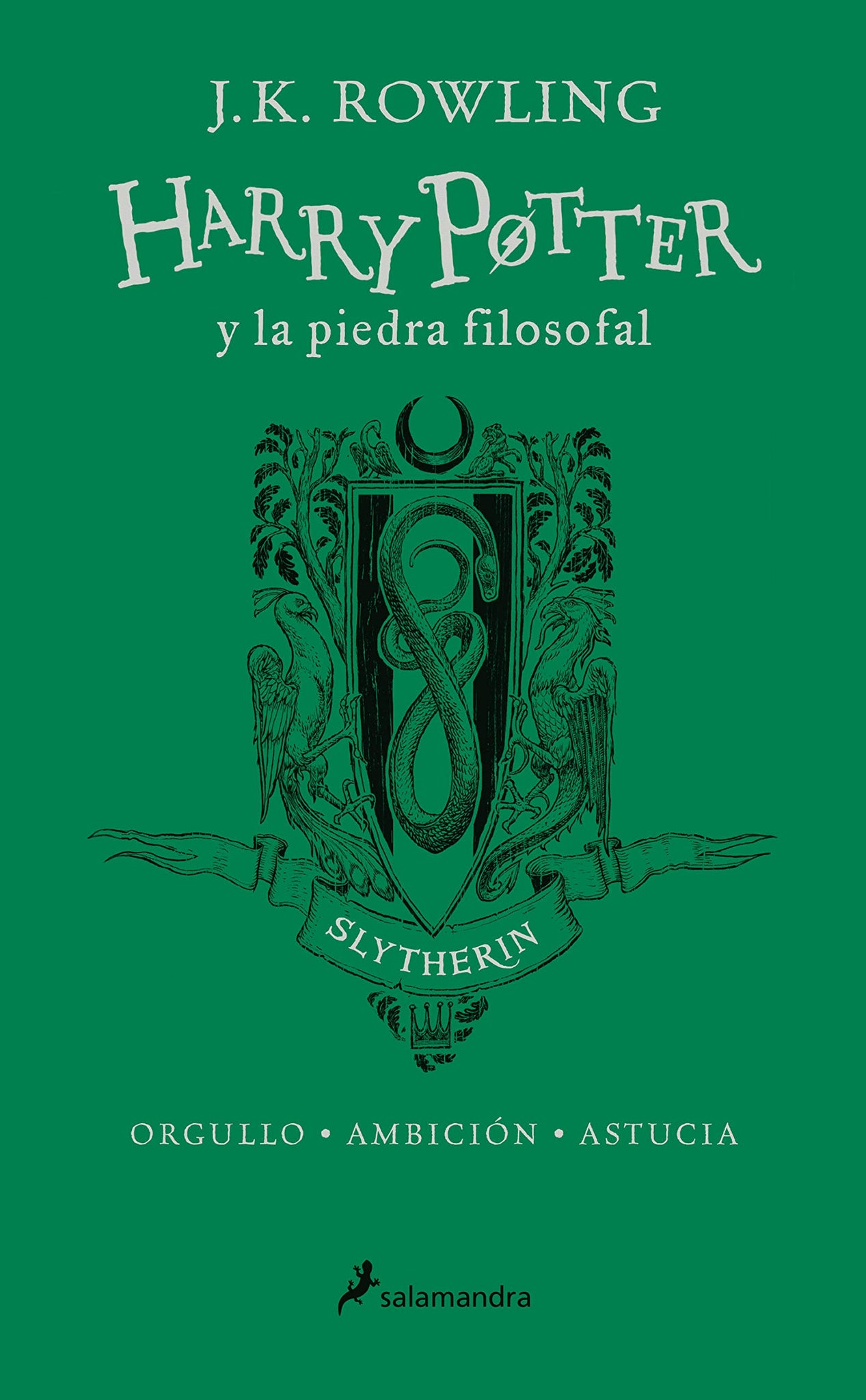 HARRY POTTER Y LA PIEDRA FILOSOFAL ( CASA SLYTHERIN)