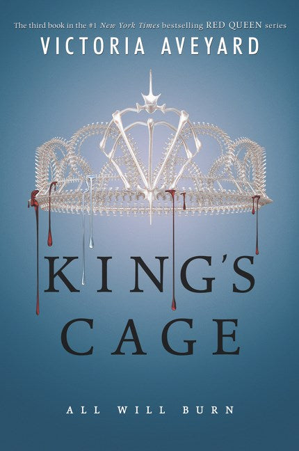 King's Cage (Red Queen #3)