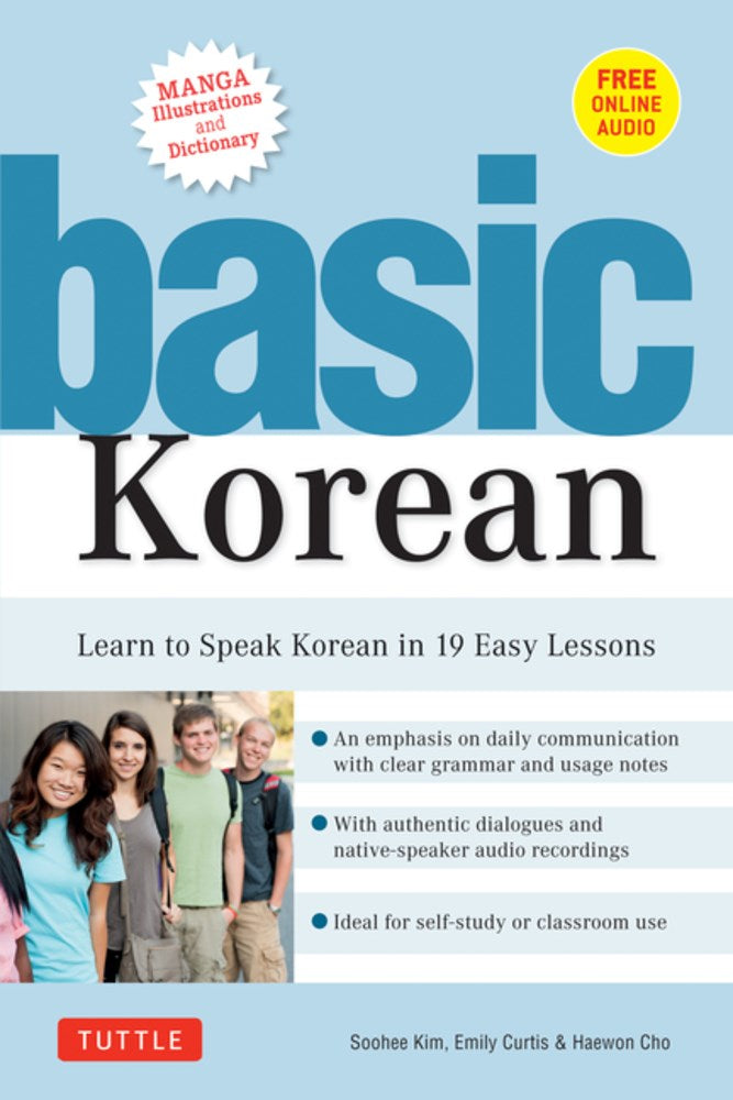 Basic Korean: Learn to Speak Korean in 19 Easy Lessons