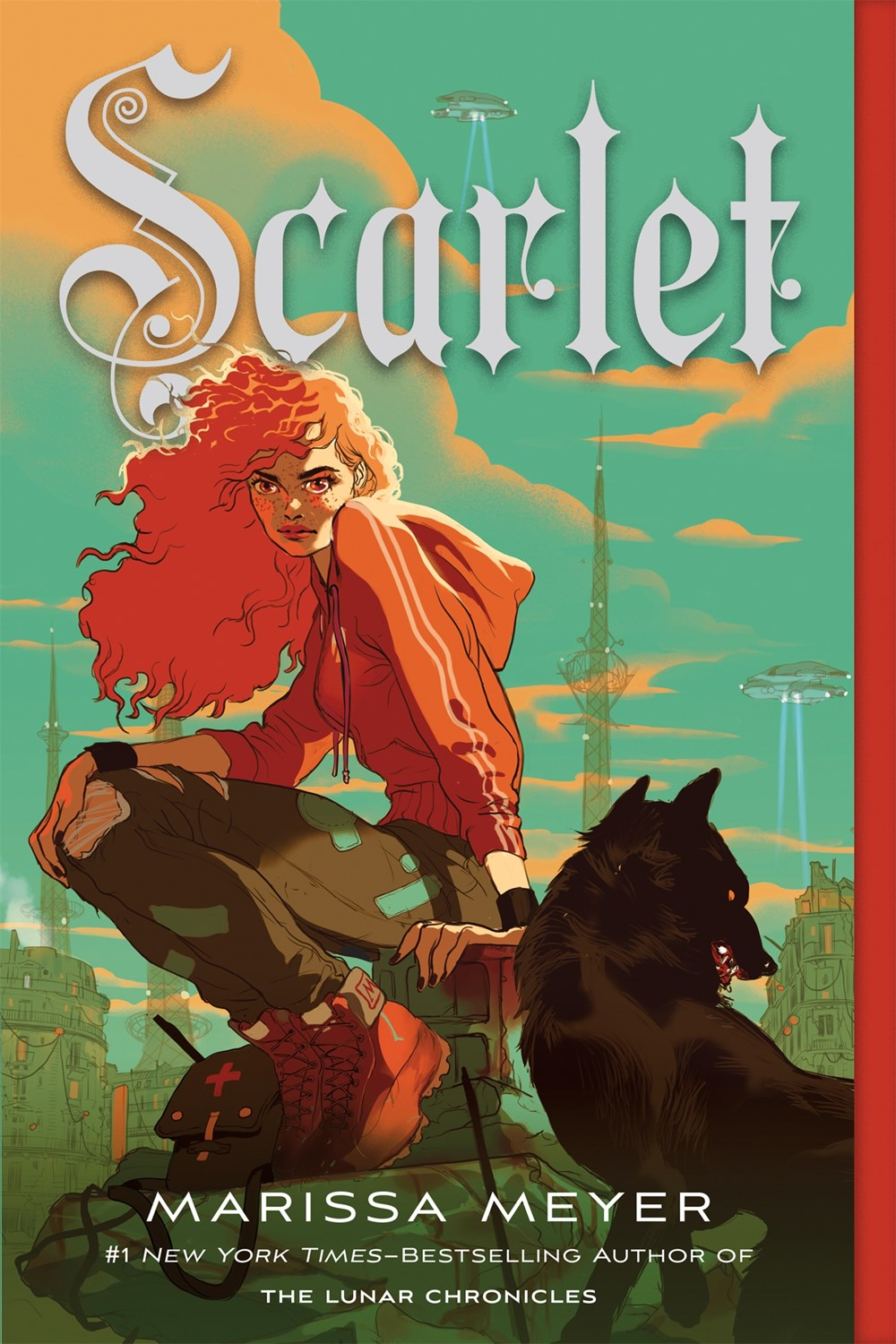 Scarlet: Book Two of the Lunar Chronicles ( Lunar Chronicles #2 )