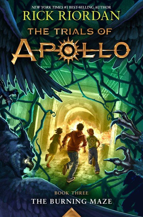 The Trials of Apollo: The Burning Maze (#3)