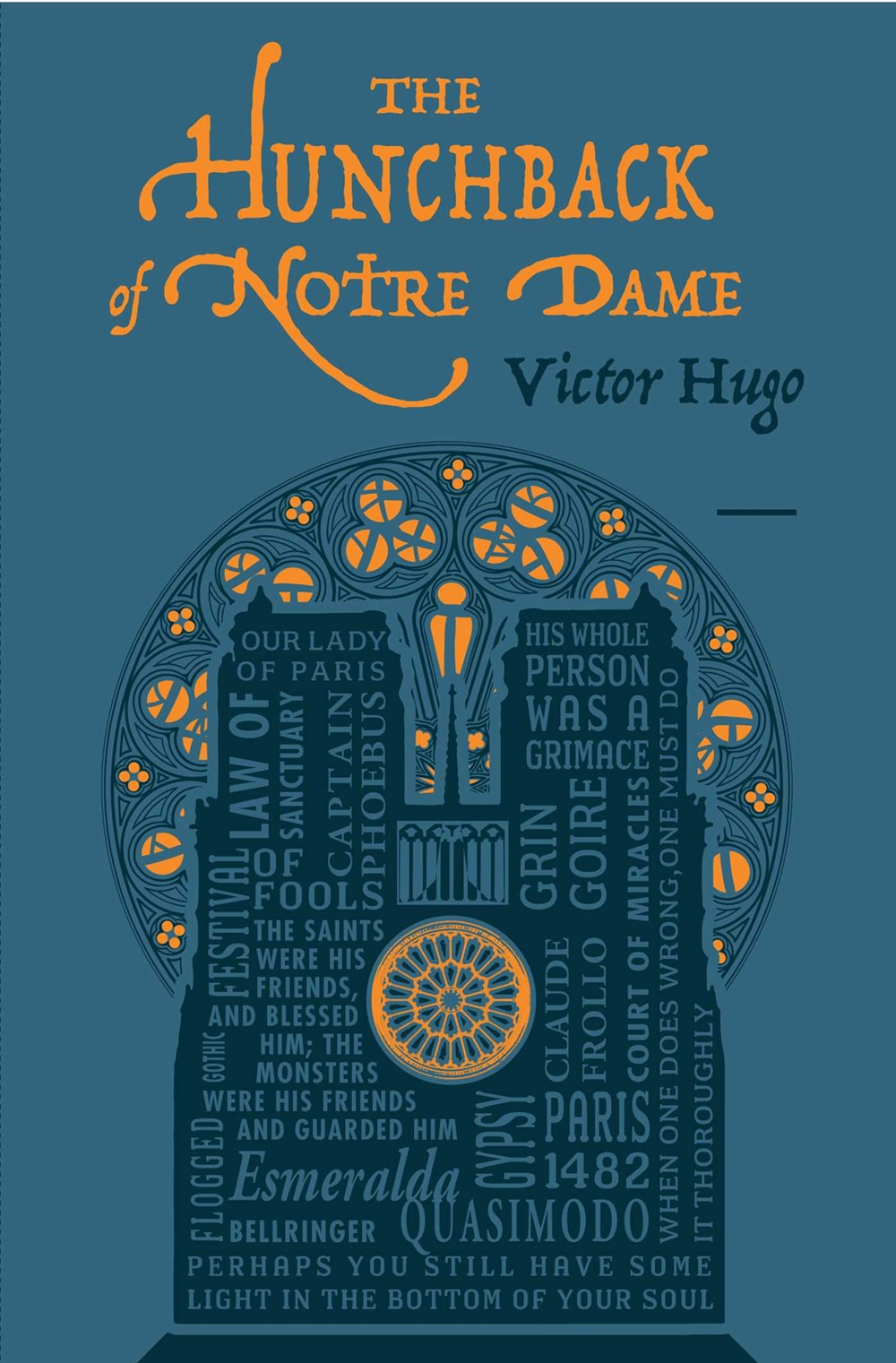 The Hunchback of Notre Dame ( Word Cloud Classics )