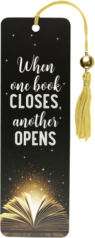 WHEN ONE BOOK CLOSES BOOKMARK
