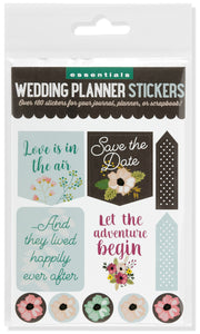 Essentials Wedding Planner Stickers