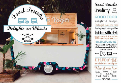 Food Trucks : Delights on Wheels