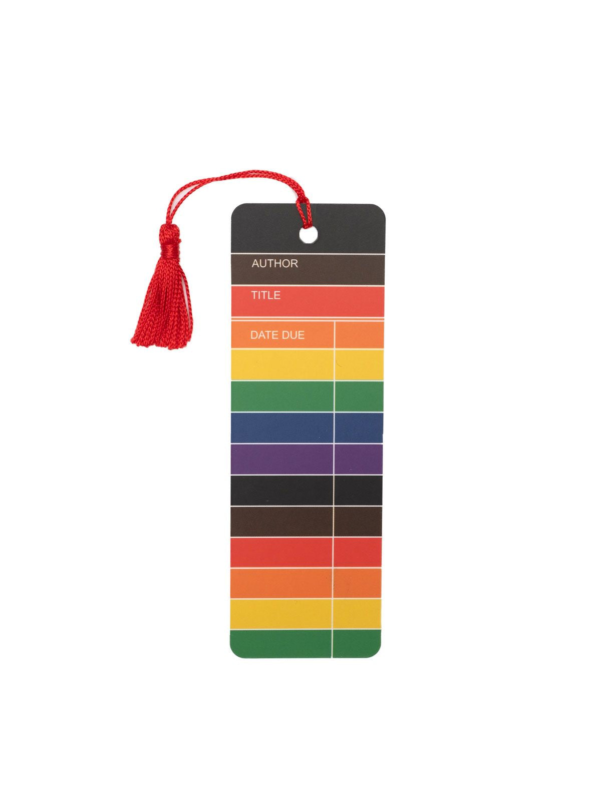 Library Card Pride bookmark
