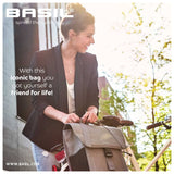 basil-go-single-bag-single-pannier-grey lifestyle
