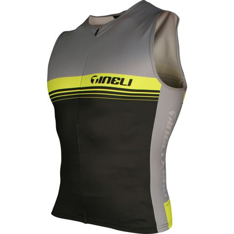 Tineli Yellow Tri Top Men's