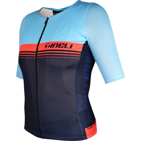 Tineli Aero ONE Race Jersey Blue/Salmon