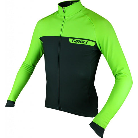 Tineli Green Dream Pro Winter Jersey