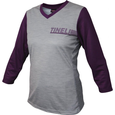 Tineli Women's Plum 3/4 Trail Jersey