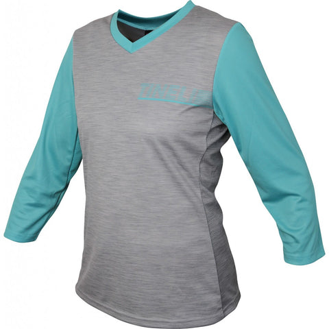 Tineli Women's Turquoise 3/4 Trail Jersey