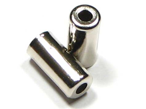 METAL END CAPS 5MM UNSEALD/200