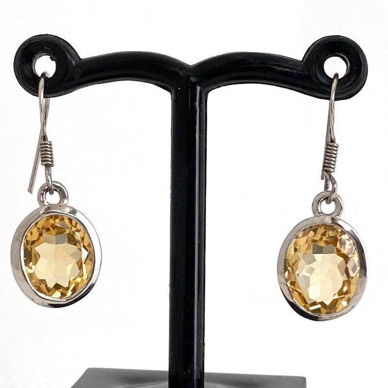 Classic Style Citrine Drop