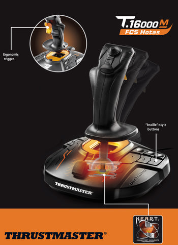 Thrustmaster - T 16000M Flight Pack