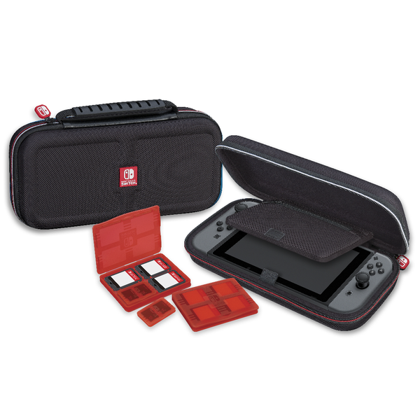 Nintendo Switch Game Traveler Deluxe Case - Black - Bluemouth Direct