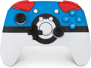 Enhanced Wireless Controller for Nintendo Switch- Great Ball - Bluemouth Direct