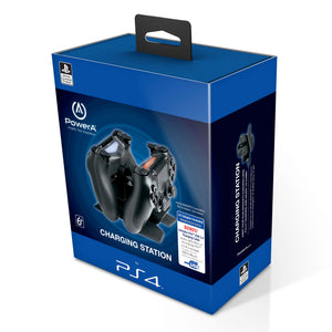 PS4 LICENSED Dualshock Charging Station with USB Cable - Bluemouth Direct