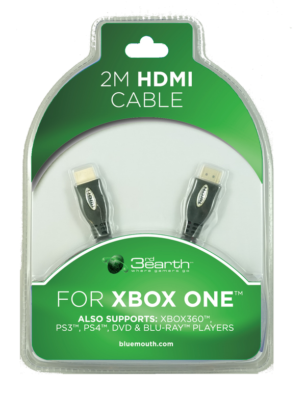 2M HDMI Cable for XBOX One - Bluemouth Direct