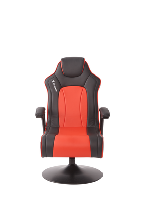 X Rocker® Torque 2.1 Pedestal Chair - Red/Black - Bluemouth Direct