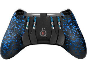 SCUF IMPACT PS4 White & Blue - Spectrum Edition - Bluemouth Direct